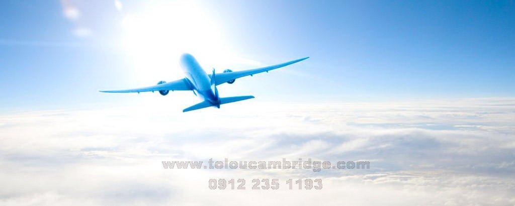 آموزش انگلیسی در سفر پرواز