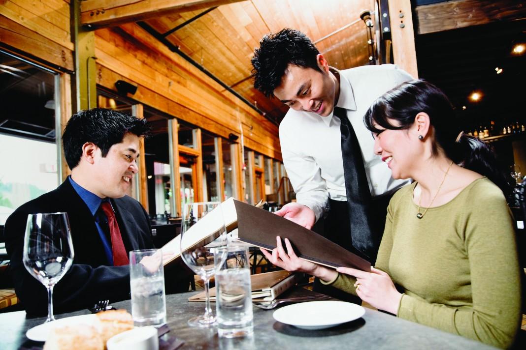 آموزش سفارش غذا در رستوران