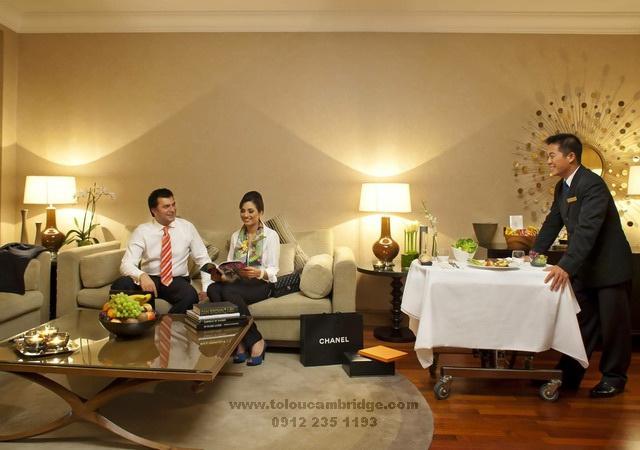 آموزش مکالمه خدمات هتل
