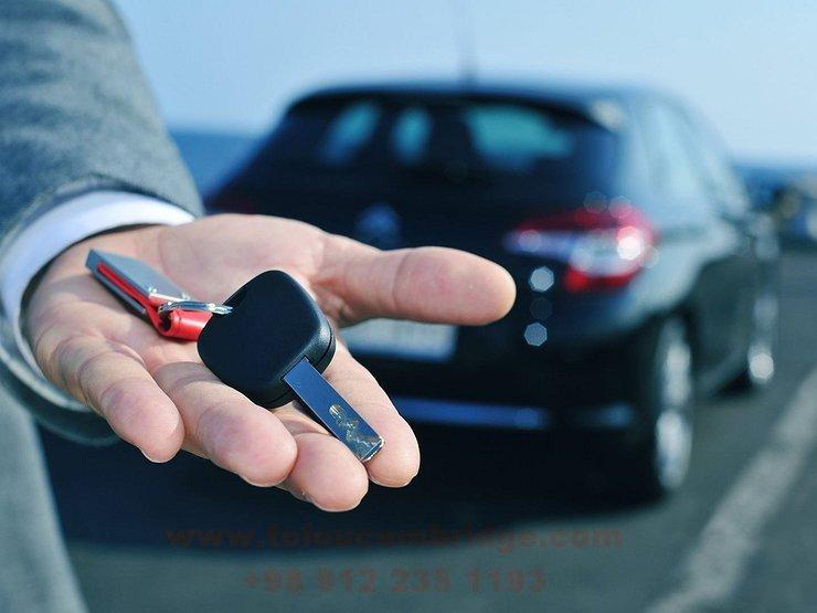 نحوه اجاره ماشین به انگلیسی car rental conversation