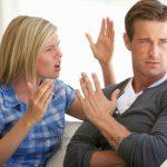 آموزش عبارات طلاق در انگلیسی arguing fighting couple'