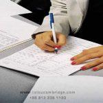 آموزش پر کردن فرم ثبت نام به فرانسه filling the form in french