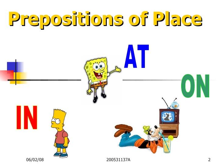آموزش تفاوت in و at در زبان انگلیسی