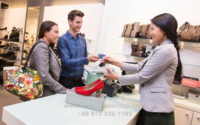 آموزش مکالمه خرید کفش به انگلیسی shoes shopping conversation