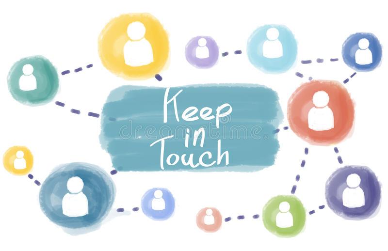 آموزش جمله شما کی تماس میگیرید به انگلیسی keep in touch