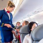 آموزش مکالمه انگلیسی با مهماندار هواپیما talking with flight attendant