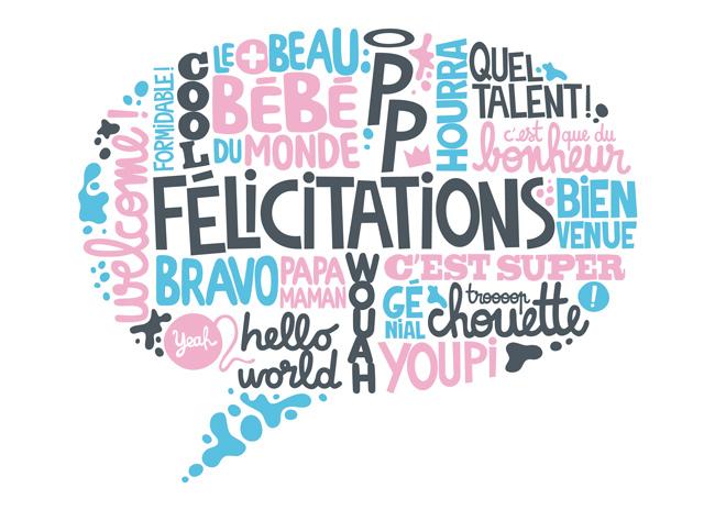 اصطلاحات تبریک گفتن در زبان فرانسه
