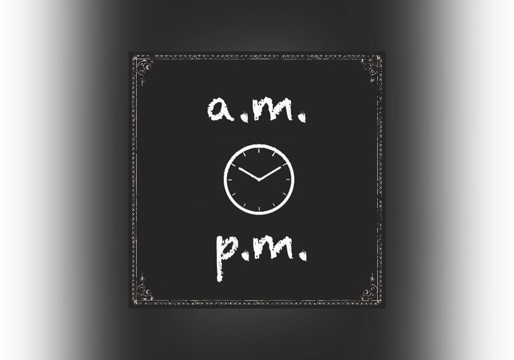 آموزش علامت اختصاری AM در زبان فرانسه