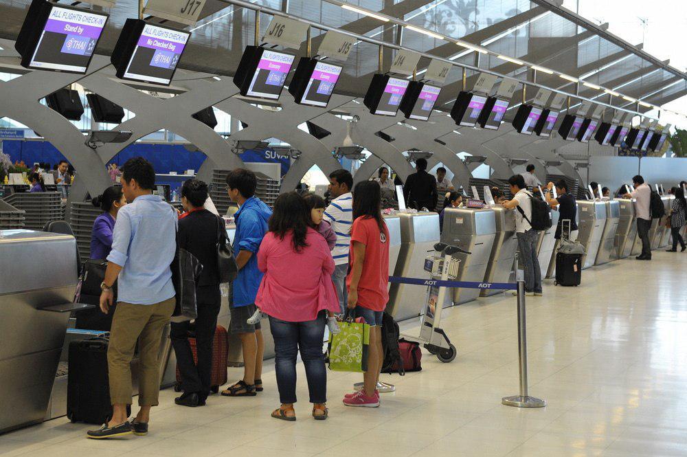 محتوای قسمتهای مختلف فرودگاه به زبان انگلیسی