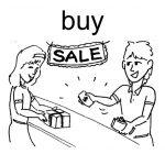 آموزش گذشته فعل buy در زبان انگلیسی
