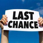 اصطلاح آخرین شانس در زبان انگلیسی