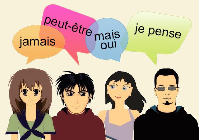 محتوای لغات و عبارات پرکاربرد فرانسوی