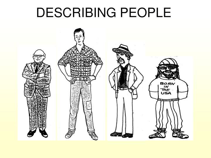 آموزش مکالمه توصیف ظاهر افراد در زبان انگلیسی