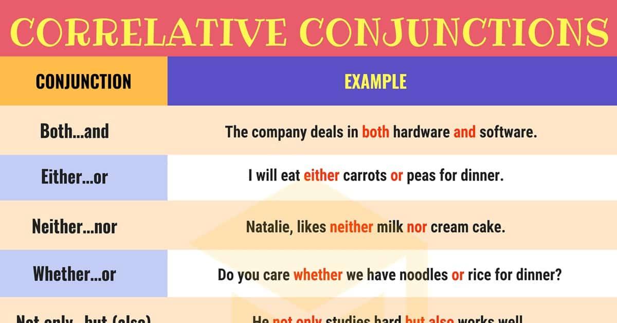 آموزش حروف ربط جفتی در زبان انگلیسی