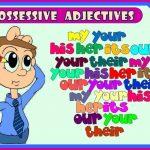 آموزش صفات ملکی در زبان انگلیسی