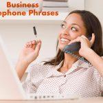 عبارات کلیدی مکالمه تلفنی انگلیسی تجاری