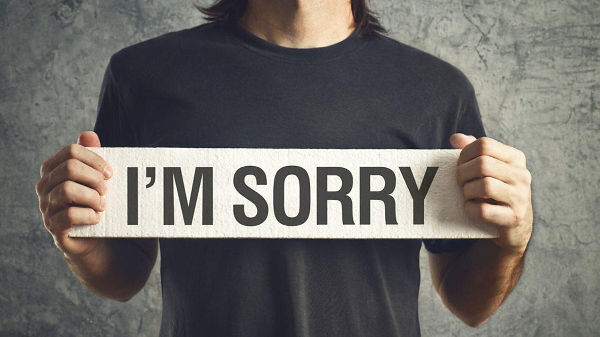 آموزش 24 جمله برای عذرخواهی در انگلیسی